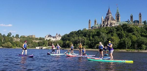 Ottawa Women SUP FUNdraiser Charity