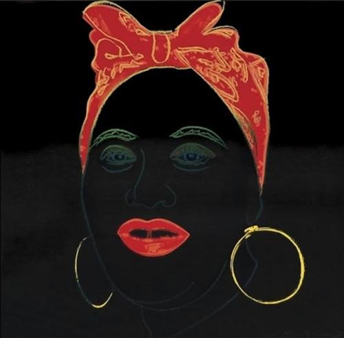 """Mammy"" 1981, Andy Warhol"