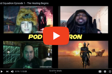 Pod Squadron?? Wait… Benja's Hosting a Star Wars Podcast