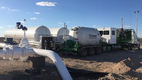 High Volume Nitrogen Pumping Texas
