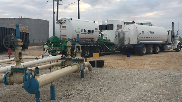 Nitrogen Support Trucks in Texas