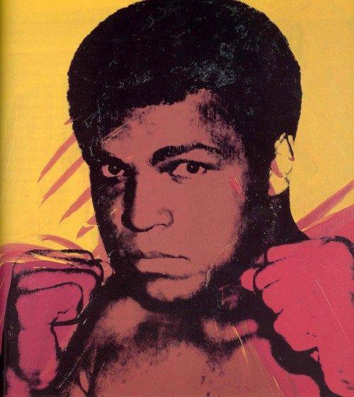 """Muhammed Ali"", 1978 Andy Warhol"