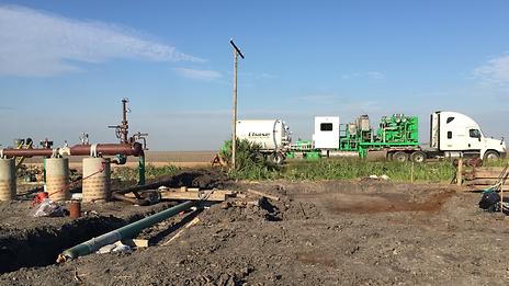 Nitrogen Pumper Truck Texas