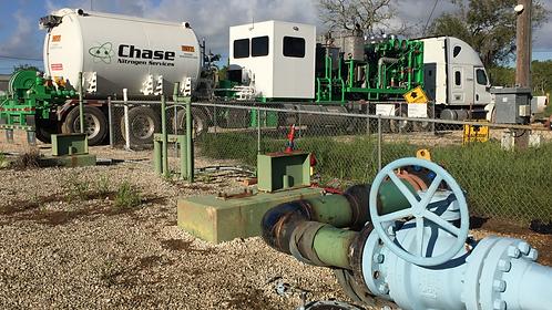 Texas Pipeline Nitrogen Test
