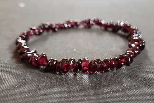 NATURAL Garnet Bracelet (stone of prosperity & abundance,healing,healing)