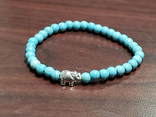Turtle Turquoise Bracelet (Master Healer, Calm Emotions, Good for health & body)