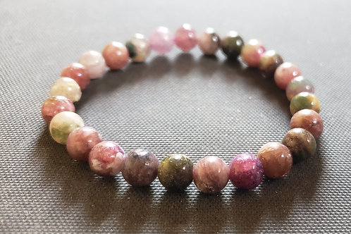 NATURAL Tourmaline Bracelet- known for detoxification,circulations,calm emotions