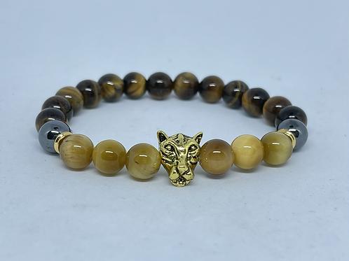 Charged Tiger Eye,Hematite Bracelet-Decision & $ making,healer,remove negativity
