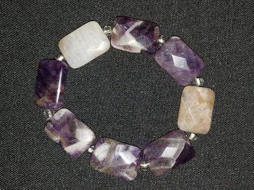 NATURAL Amethyst Bracelet (Master Healer, Calm Emotions)