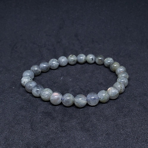Natural cleansed Laborite Bracelet(remove and block negative energy,protection)