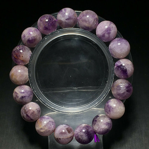 NATURAL Amethyst Bracelet (healer,calm emotions,protection,remove negativity)