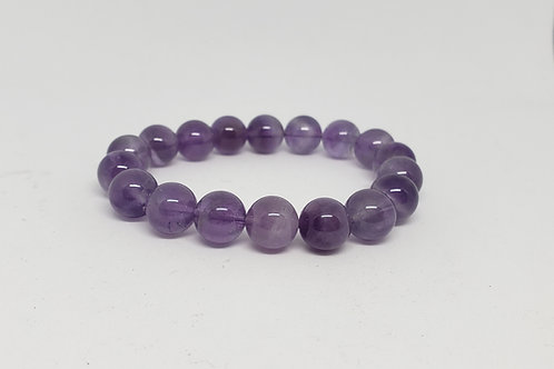 Charged Amethyst Bracelet(Calm Emotions,healer, protection,remove negativity)