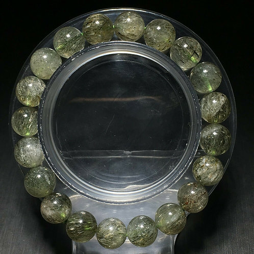 NATURAL Green Tourmaline Bracelet (healing power, many health benefits-see photo