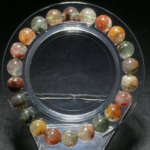 NATURAL Phantom Quartz Bracelet (help inner growth,transformation,healing)