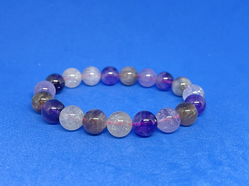 NATURAL Auralite 23 Bracelet(healer,calm emotions,remove Negativity, wisdom)