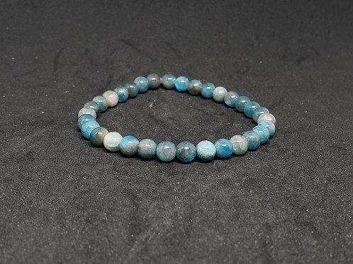 NATURAL Apatite Bracelet (reduce stress & anger,healing,calm emotions)