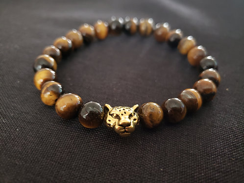 NATURAL Tiger Eye Bracelet (Help decision & $ Making, healing, calm emotions)