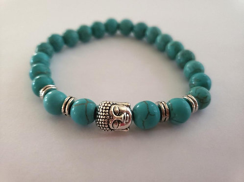 Turquoise  Bracelet (Master Healer, Calm Emotions, Good for Mind & body)
