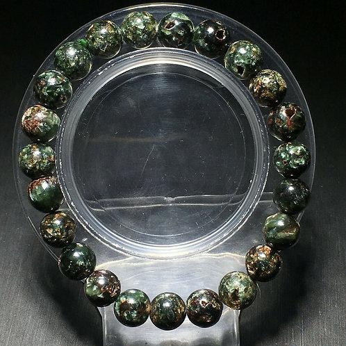 NATURAL Green Seraphinite Bracelet(healer,calm emotions, cleanse aura)