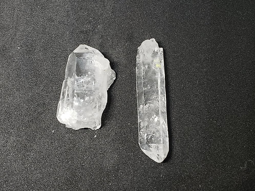 NATURAL Clear Crystal Points Brazil (master healer,calm emotions,protection)