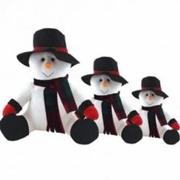 Christmas Snowman Soft Teddy Bears