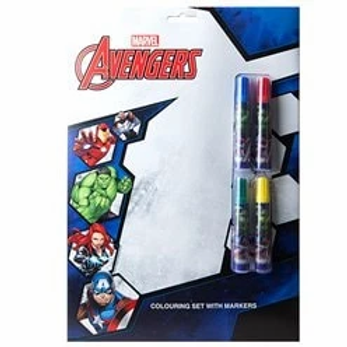 Avengers Colouring Set