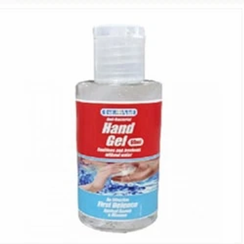 Hand Sanitizer Gel In Flip Cap Bottle 60ml