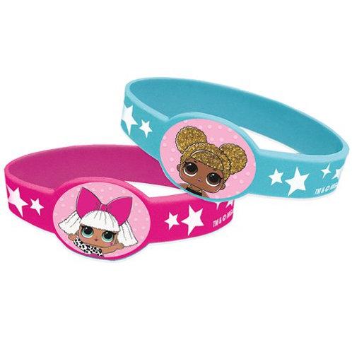 LOL Surprise Rubber Bracelets