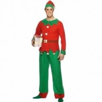 Elf Male Fancy Dress Costume