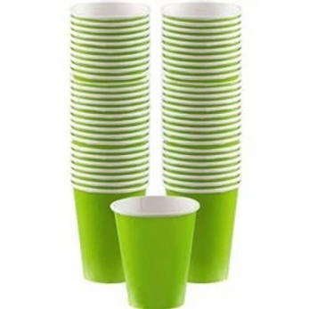 Lime Green Coffee Cups