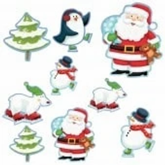Christmas Characters Assorted Cutouts