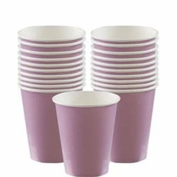 Lilac Party Cups 266ml