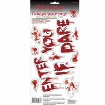 Halloween Enter If You Dare Wall Grabber