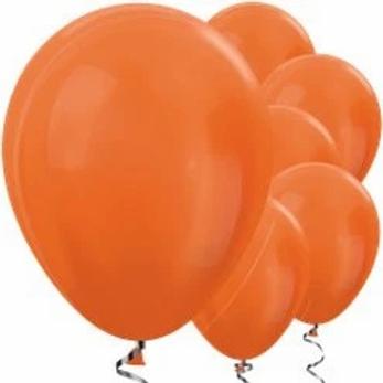 "Mandarin 11"" Balloons"