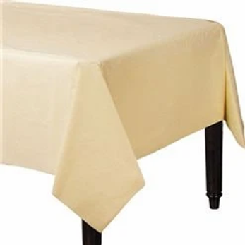 Ivory Paper Tablecovers