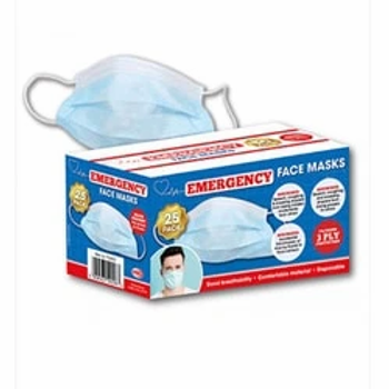 Emergency Disposable Face Masks