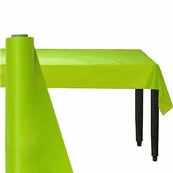 Lime Green Banqueting Roll 30m