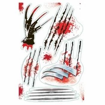 Nightmare on Elm St Wall Slash Stickers