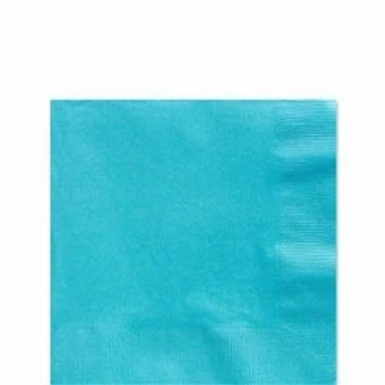 Turquoise Paper Napkins Size 33cm