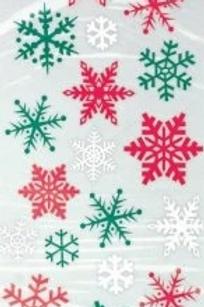 Snowflake Cello Party Bags