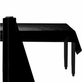 Black Banqueting Roll 30m