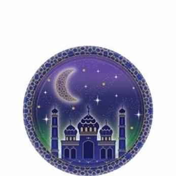 Eid Paper Plates