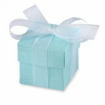 Turquoise Party Favour Box With Lids