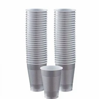 Silver Party Cups 473ml