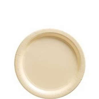 Ivory Paper Plates