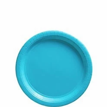 Turquoise Party Paper Plates