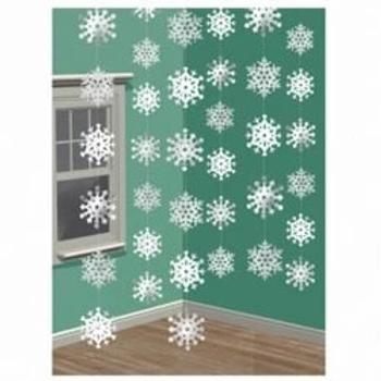 Snowflake String Decorations
