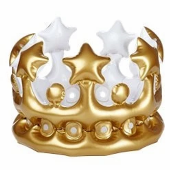 Gold Crown Inflatable - Kids