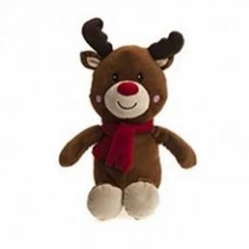 Rudolph Festive Plush Teddy Bear