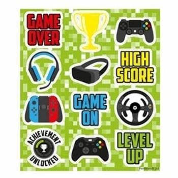 Gamer Sticker Sheet